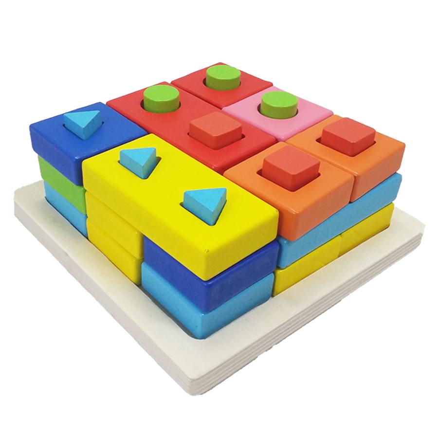 shape-matching-column