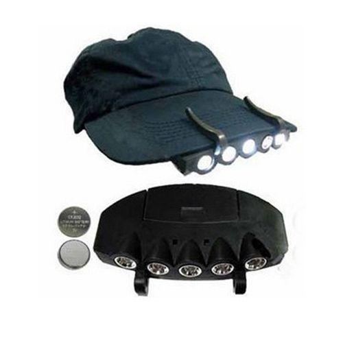 5-LED-Cap-headlight-Hat-Headlamp-Camping-Hiking-traveling