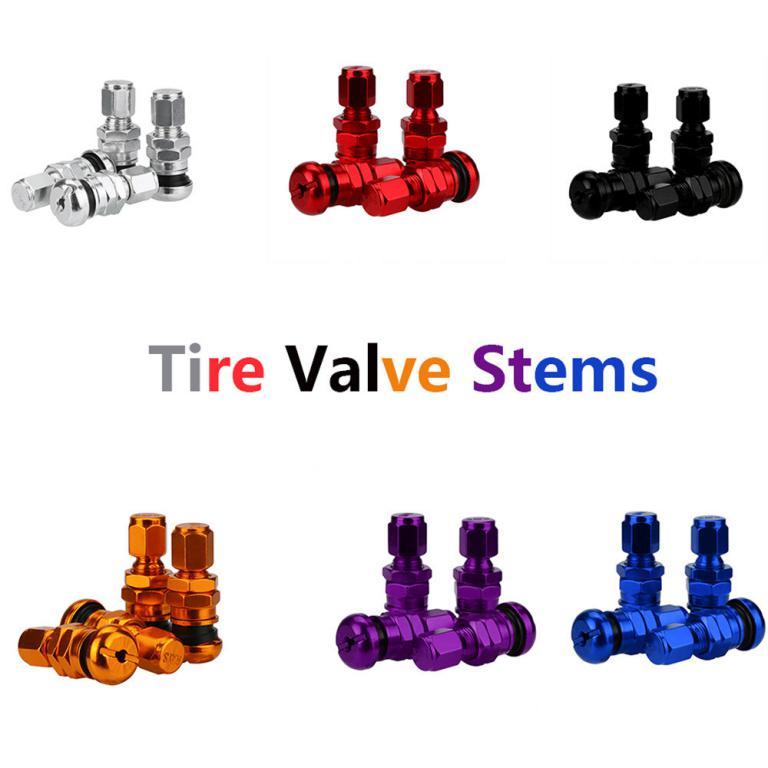 Aluminum-Car-Tubeless-Wheel-Tire-Valve-Stems-With-Dust-Caps