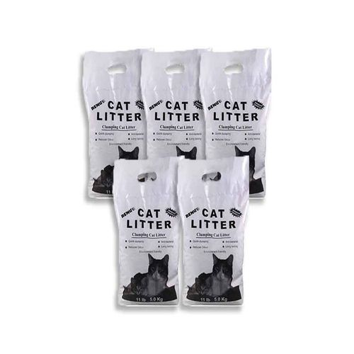 Pack-of-5-Clumping-Cat-Litter-5Litter