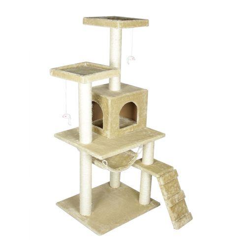 Cat-Tree-Pet-House-Condo-Furniture-Scratch-Post-Grey