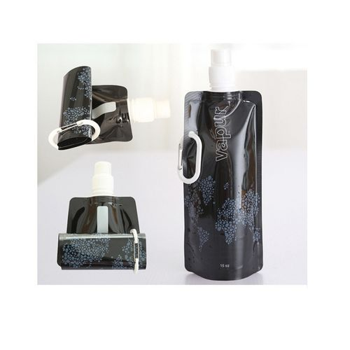 Foldable-Water-Bottle-for-Camping-Black