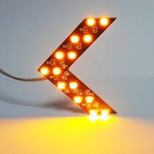 Arrow-Panel-For-Car-Rear-View-Mirror-Indicator-Turn-Signal-Light