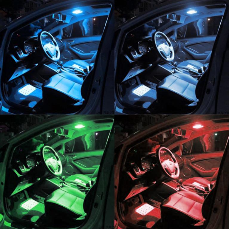 Remote-Car-Interior-Light-LED-Lamp-Colorful-RGB-Multi-Colors
