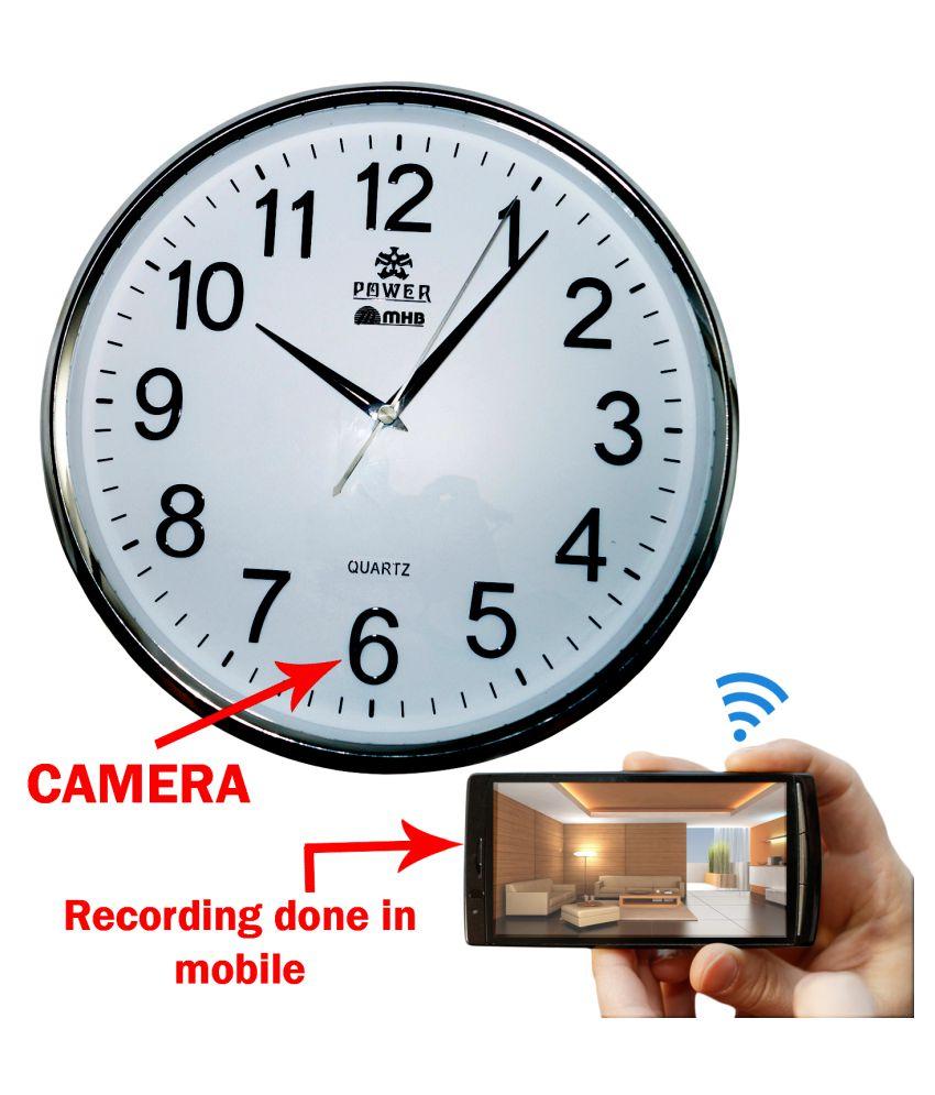 Wifi-Spy-Wall-clock-Wireless-Hidden-HD-Video-Recording-Camera
