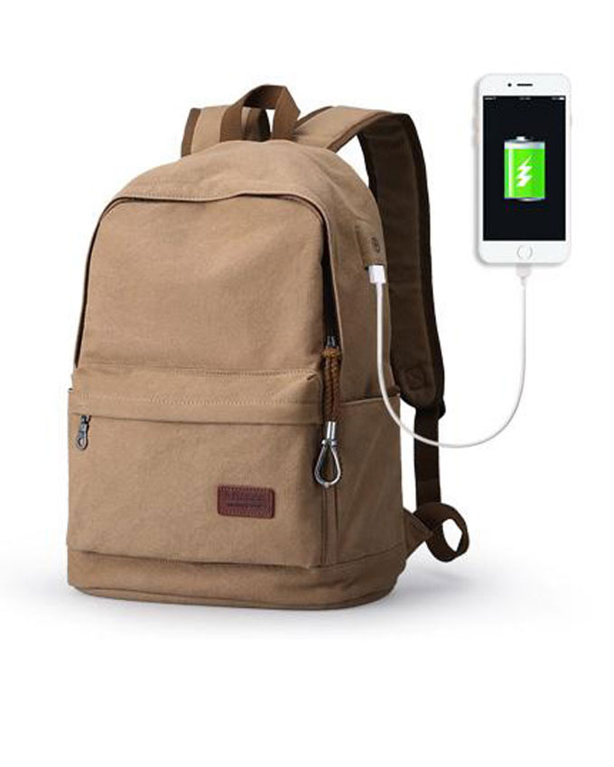 Muzee-15.6-Inch-Laptop-Backpack-With-USB-Charging-Port-Bag-Khaki