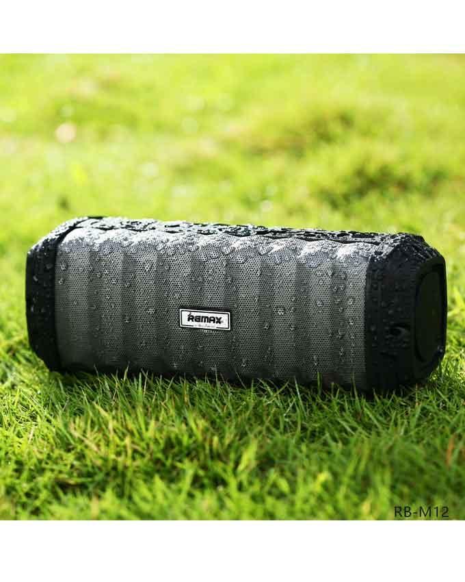 Remax-Wireless-Speaker-RB-M12-Waterproof-IPX-7-Black