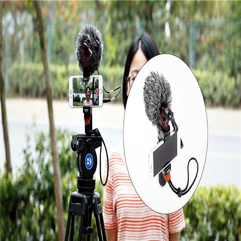 Boya-Universal-Cardioid-Microphone-BY-MM1-Smart-Grip