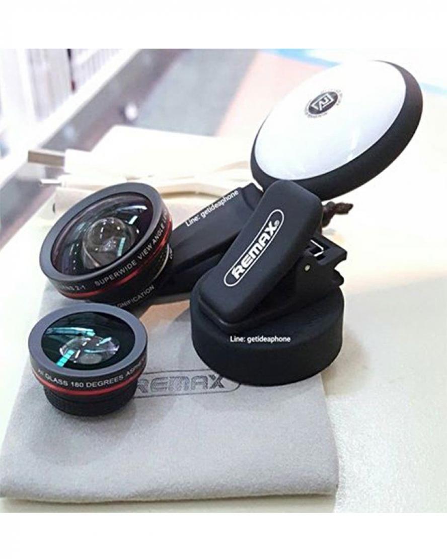 Remax-Aipai-Clip-Camera-Fish-eye-Wide-View-50x-Macro-Lens-Spotli