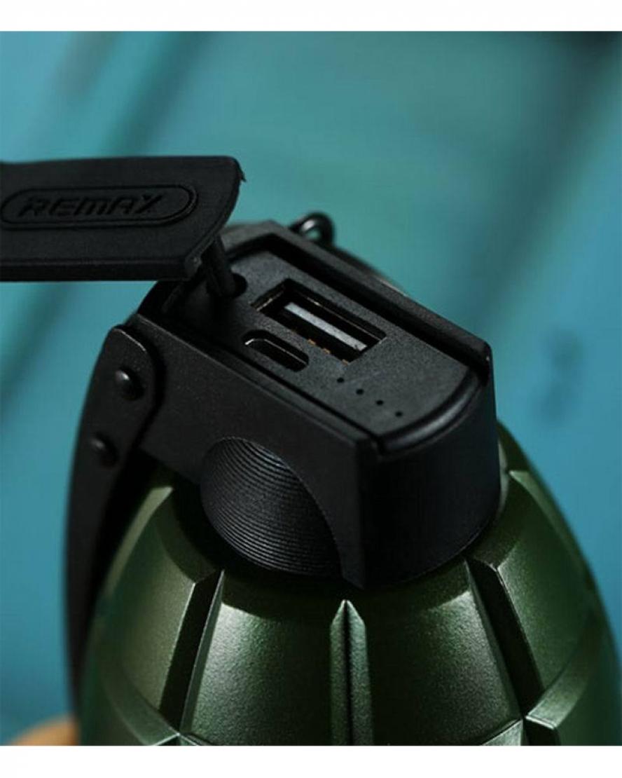 Remax-RPL-28-Grenade-Power-Bank-5000mAh-Green