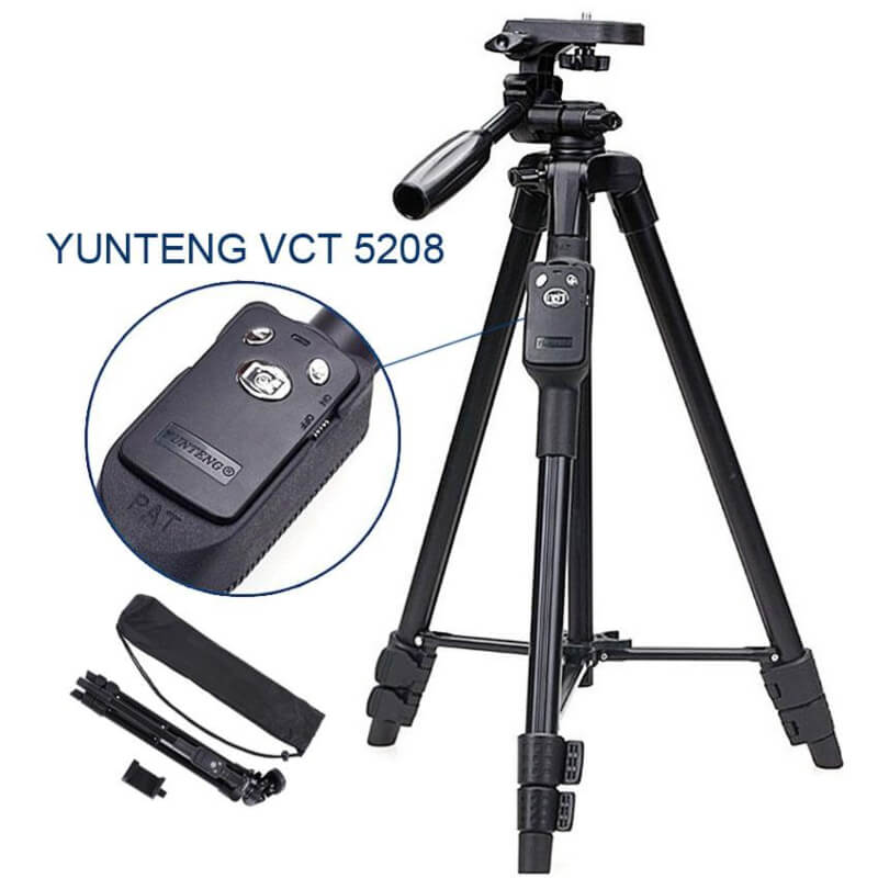 Yunteng-5208-With-Bluetooth-Professional-Mobile-Holder