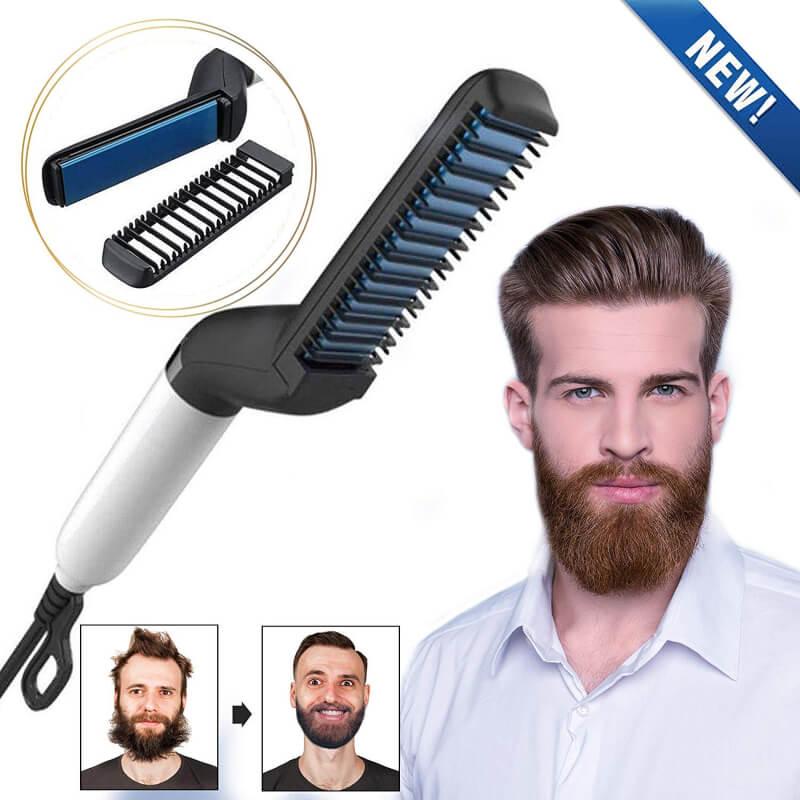 Electric-Beard-Hair-Straightener-for-Men