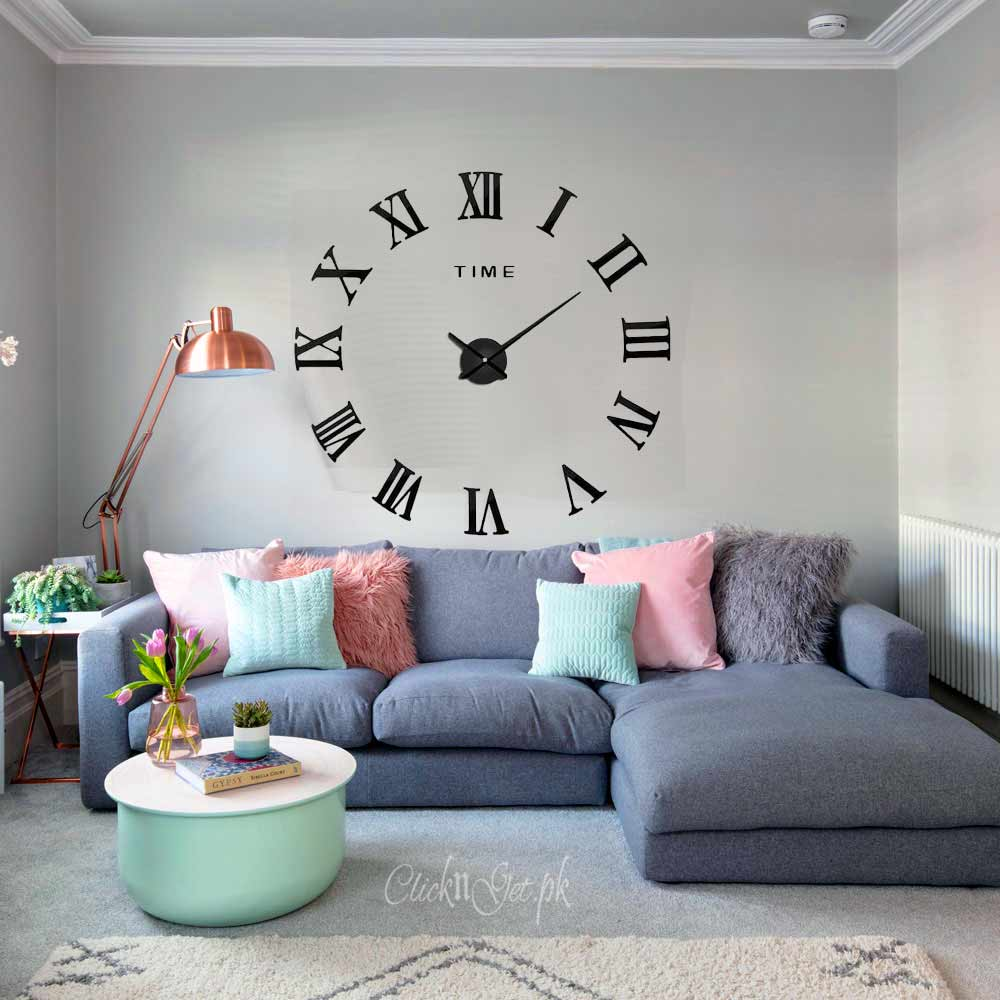 Acrylic-Wall-Clock-3D-DIY-CG-8