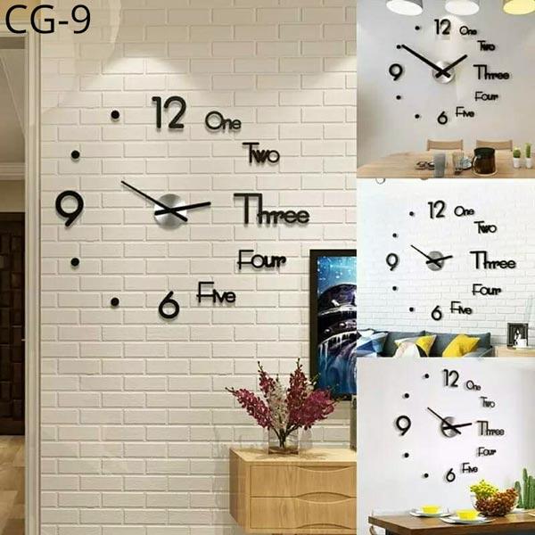 Acrylic-Wall-Clock-3D-CG-9