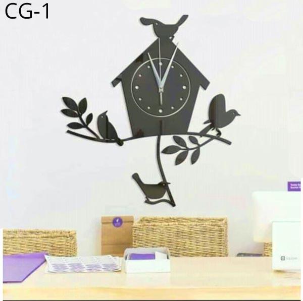 Acrylic-Wall-Clock-3D-DIY-CG-1