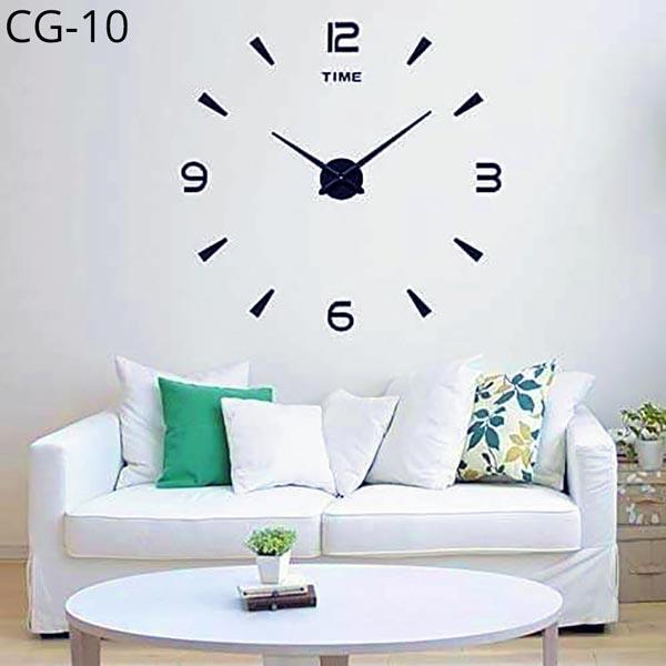 Acrylic-Wall-Clock-3D-DIY-CG-10