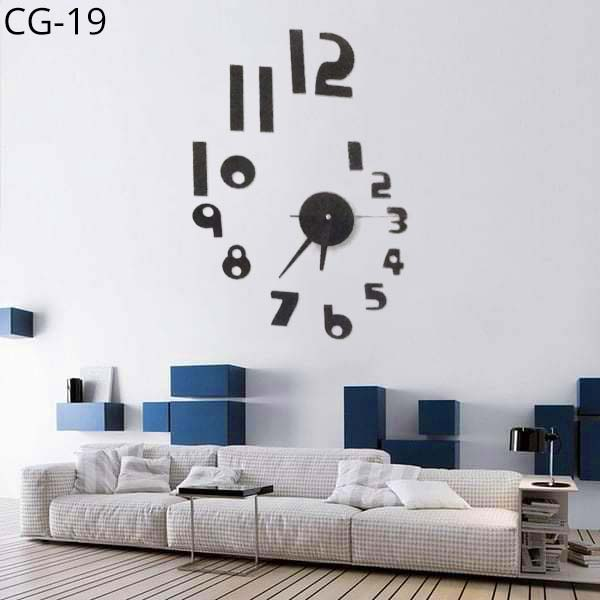 Acrylic-Wall-Clock-3D-DIY-CG-19