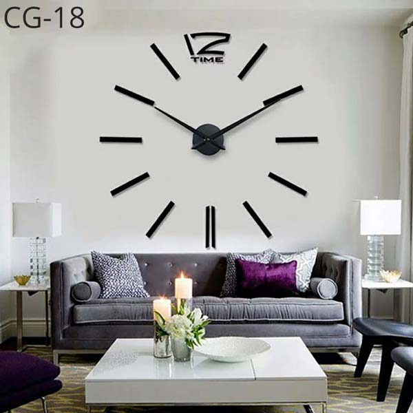 3D-DIY-Acrylic-Wall-Clock-Multi-11