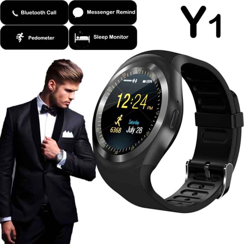 Smart-Watch-Y1-For-IOS-And-Android-With-Camera