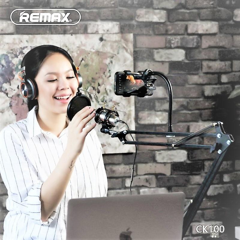remax-ck-100-mobile-recording-studio-microphone-holder-black
