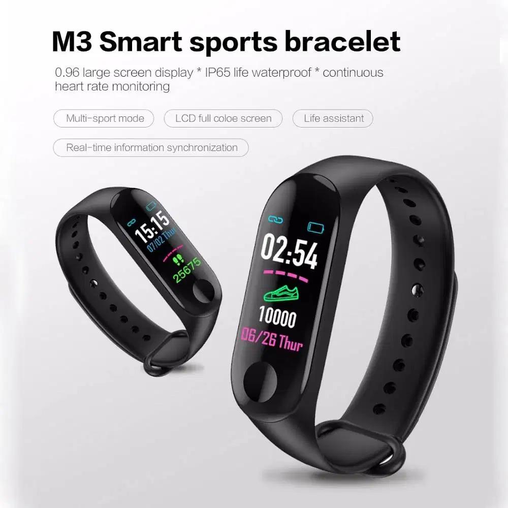 M3-Band-Sport-Wristband-Blood-Pressure-Monitor-Heart-Rate