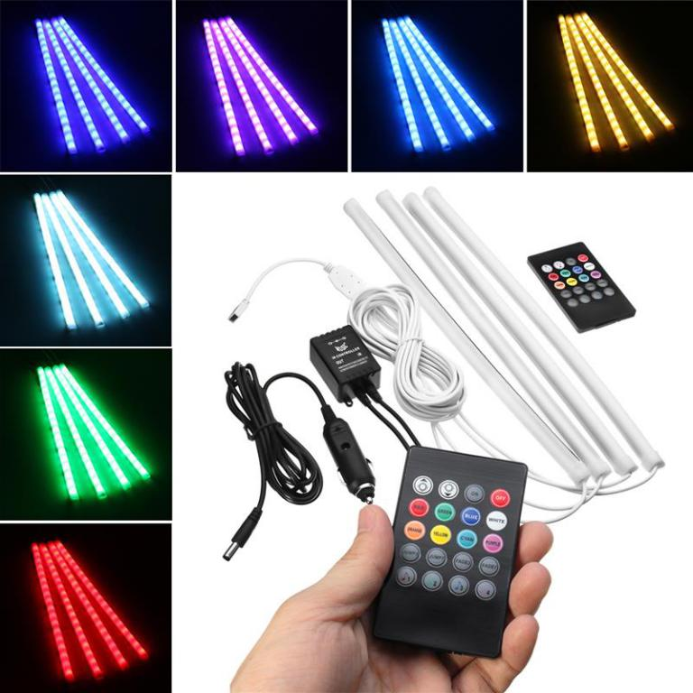 Car-Interior-Atmosphere-Light-Decor-Lamp-Remote-Control