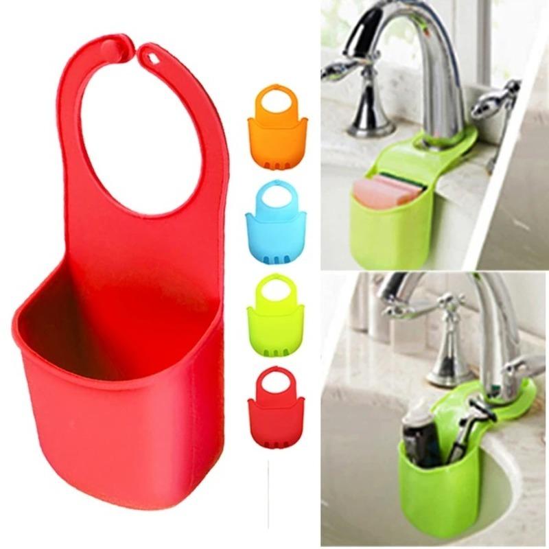 Pocket-Kitchen-Sink-Drain-Bathroom-Hanging-Storage-Basket