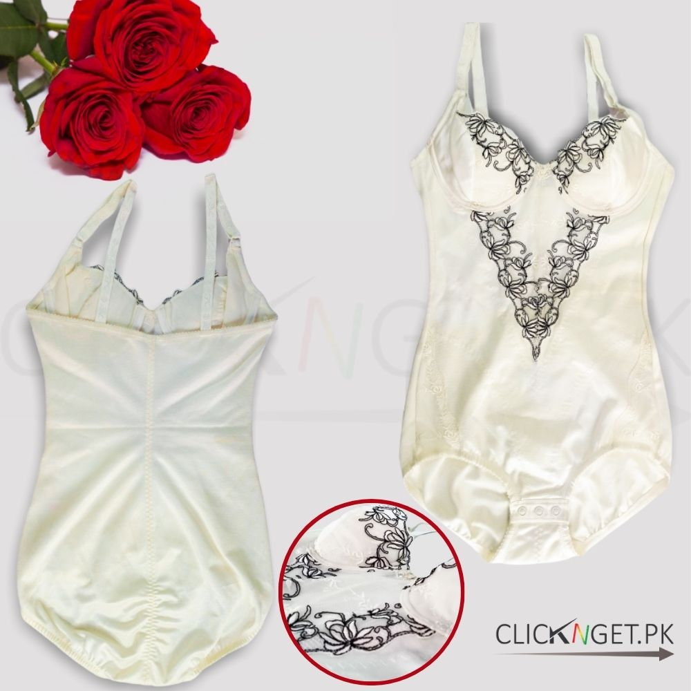 Full-Body-Shaper-Bodysuit-Shapewear-White