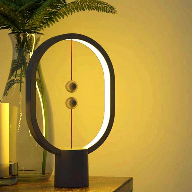 Balance-Lamp-Ellipse-Mini-Table-Lamp-Black