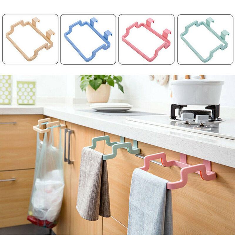 Kitchen-Cabinet-Door-Back-Plastic-Garbage-Holder