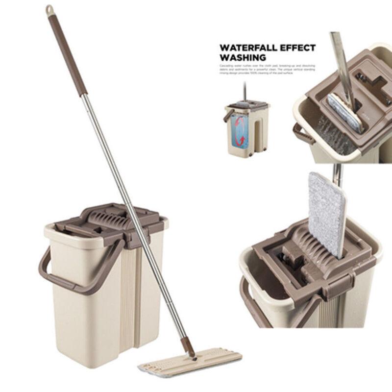 Bucket-Micro-Flat-Mop-Self-Cleaning-Microfiber